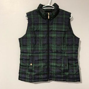 Charter Club Women's Green Vest Size Large